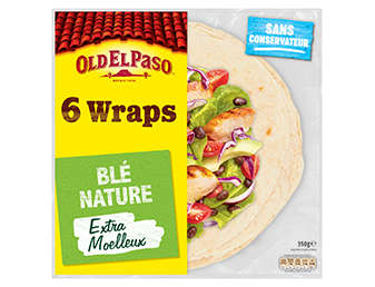 6 Wraps De Blé Nature