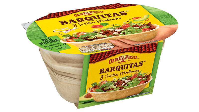 8 Barquitas™ Tortillas De Blé Nature