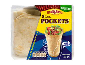 tortilla pockets card