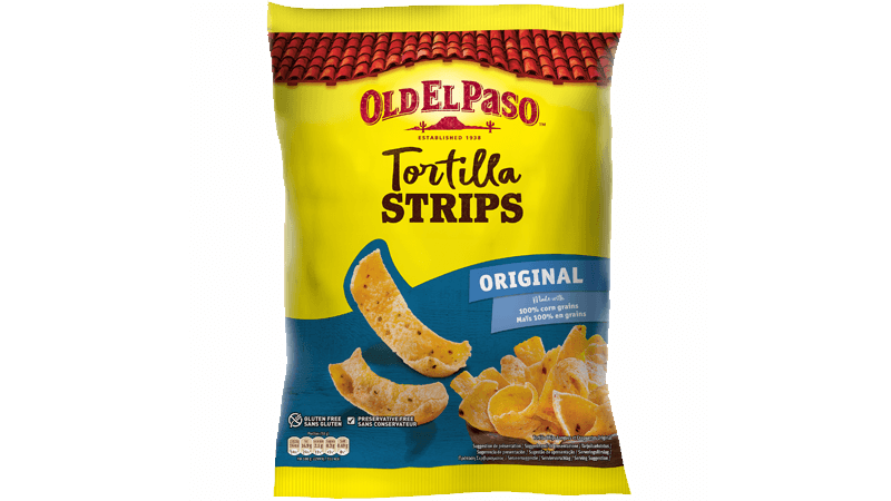 tortilla strips chips original