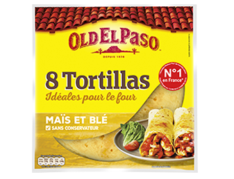 8 Tortillas Au Maïs Nature