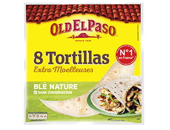 8 Tortillas De Blé Nature
