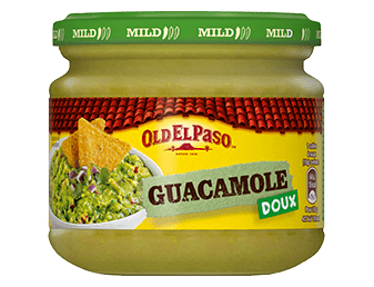 sauce ap ritives mexicaines guacamole salsa old el paso. Black Bedroom Furniture Sets. Home Design Ideas