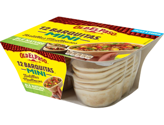 12 Mini Barquitas™ Tortillas De Blé Nature