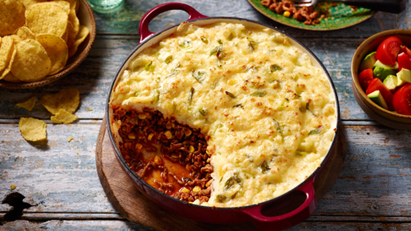 Shepherd's pie mexicaine